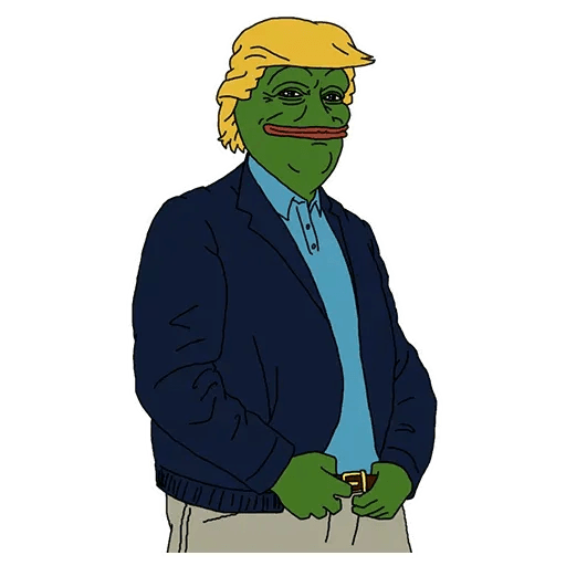PePe Trump @kyprijan - Sticker 20