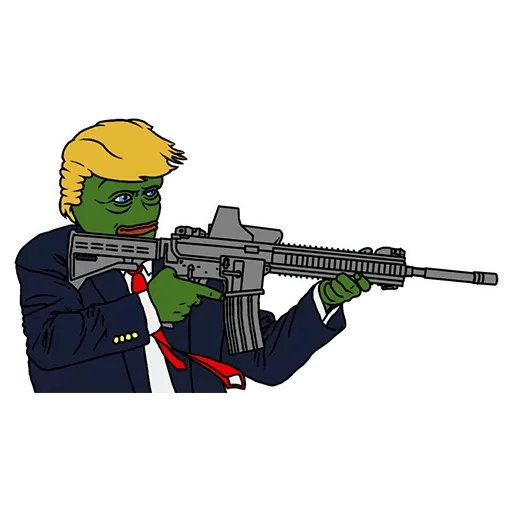 PePe Trump @kyprijan - Sticker 12