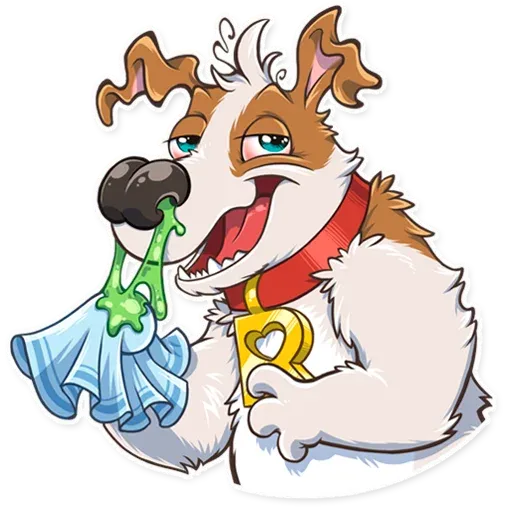 Richie The Dog - Sticker 12