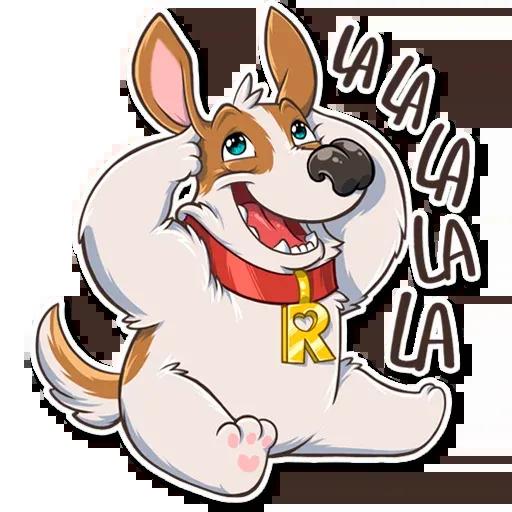 Richie The Dog - Sticker 18