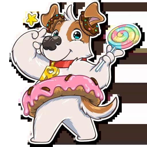 Richie The Dog - Sticker 29