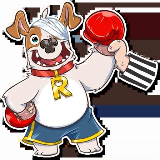 Richie The Dog - Sticker 17