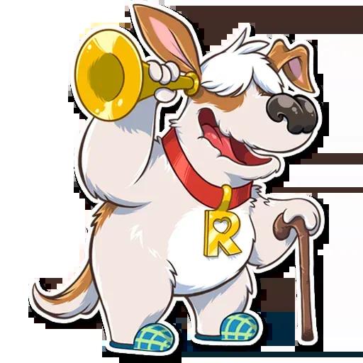 Richie The Dog - Sticker 14