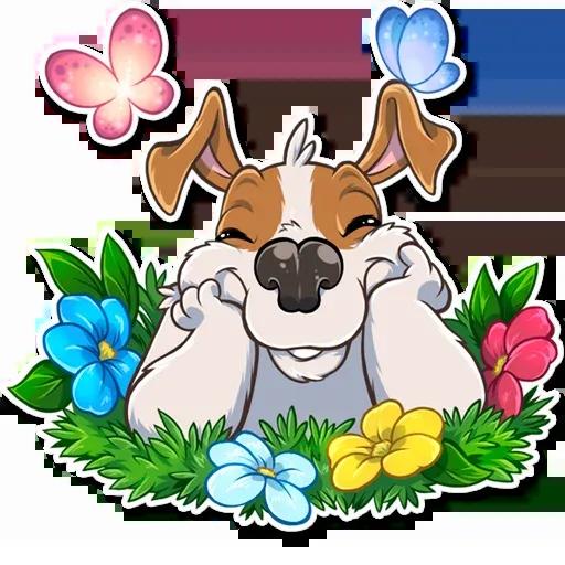 Richie The Dog - Sticker 28
