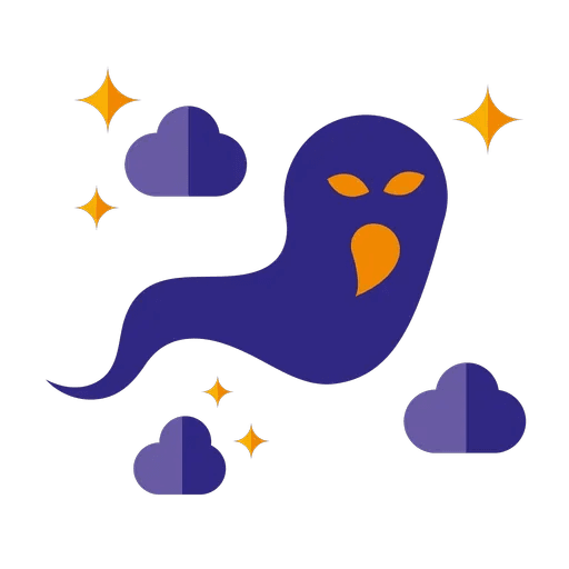Minimal Halloween - Sticker 3