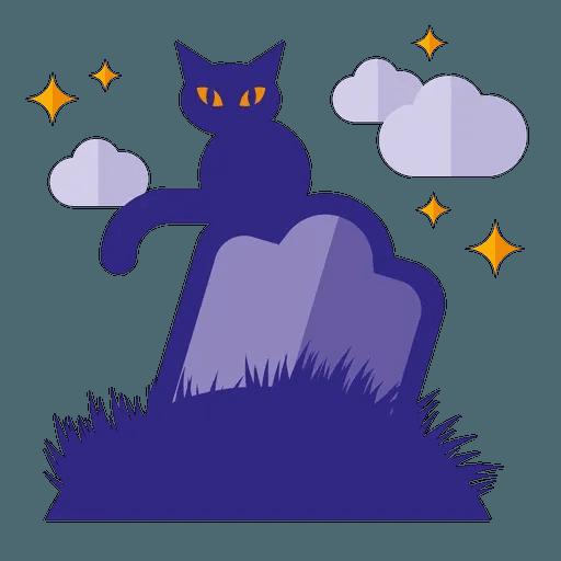 Minimal Halloween - Sticker 23