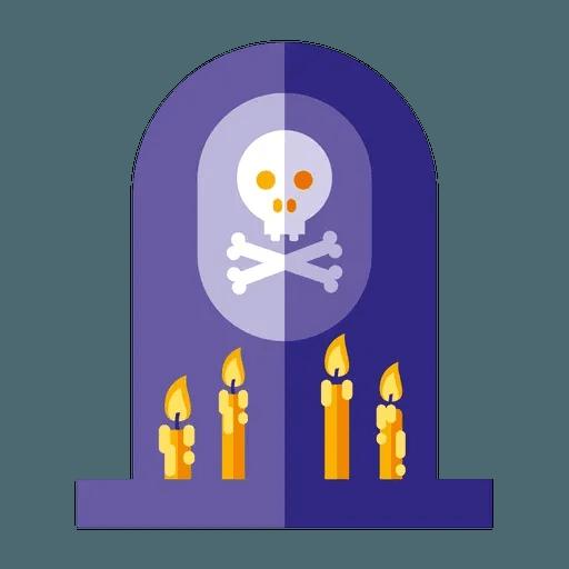 Minimal Halloween - Sticker 17
