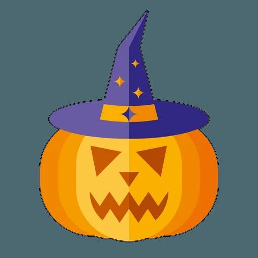 Minimal Halloween - Tray Sticker