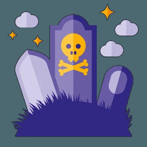 Minimal Halloween - Sticker 12