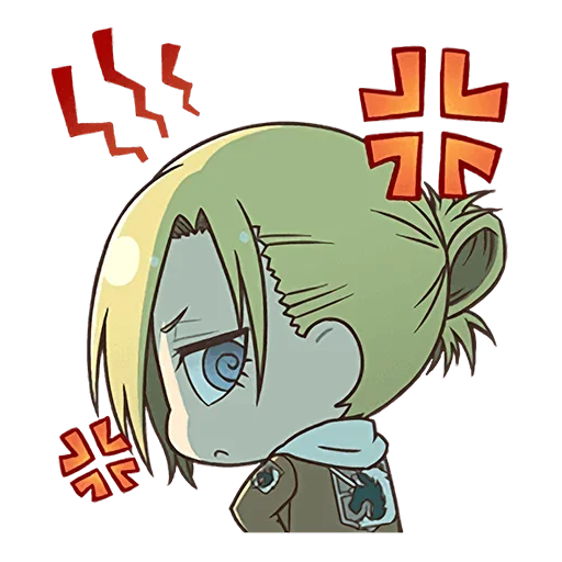 AOT Chibi 4 - Sticker 2