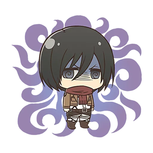 AOT Chibi 4 - Sticker 3
