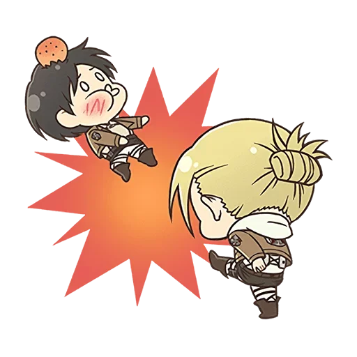 AOT Chibi 4 - Sticker 9