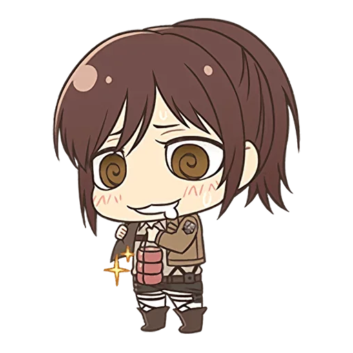 AOT Chibi 4 - Tray Sticker