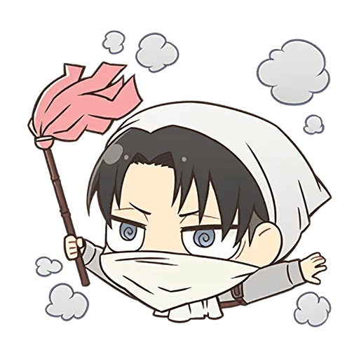 AOT Chibi 4 - Sticker 8