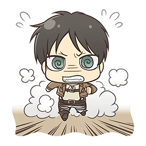 AOT Chibi 4 - Sticker 5