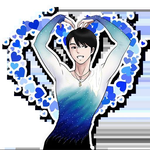 Yuzuru2 - Sticker 28