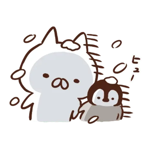 Nekopen Biyori (Fuyu no hi) - Sticker 7