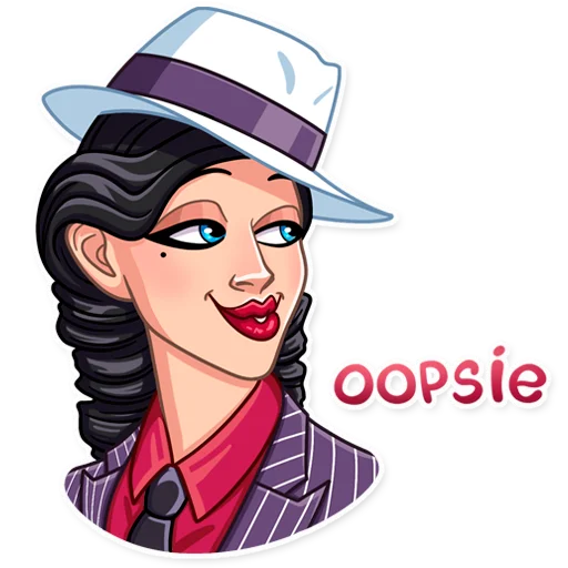Mafia Girl - Sticker 20