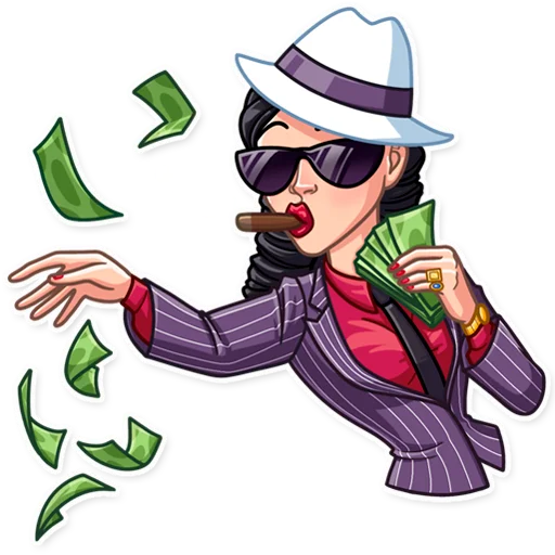 Mafia Girl - Sticker 26