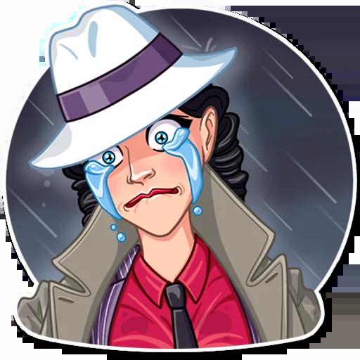 Mafia Girl - Sticker 15