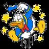 Donald Duck - Tray Sticker