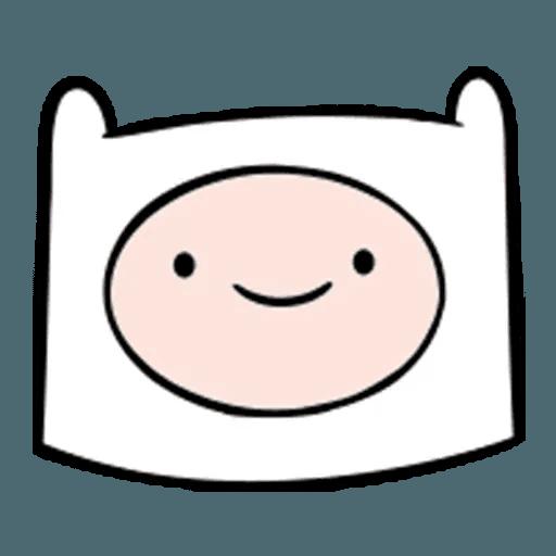 Adventure Time - Tray Sticker