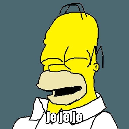 Memes Los Simpsons - Sticker 3