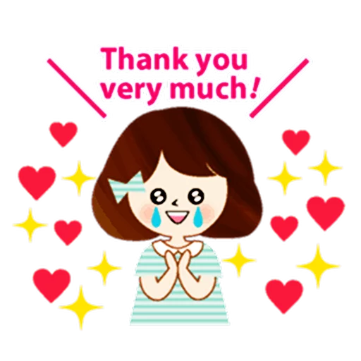 Thanks😘 - Sticker 5