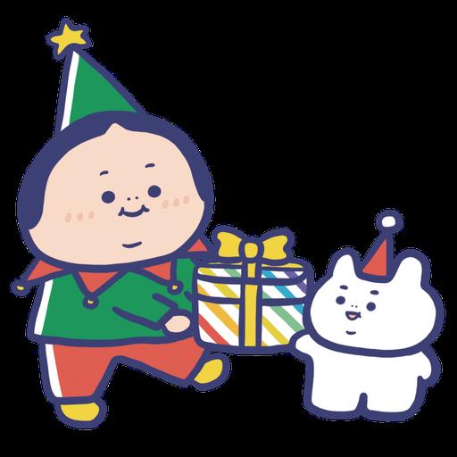 OopsGUY 祝你聖誕快樂! - Sticker 1
