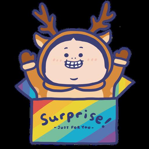 OopsGUY 祝你聖誕快樂! - Sticker 8