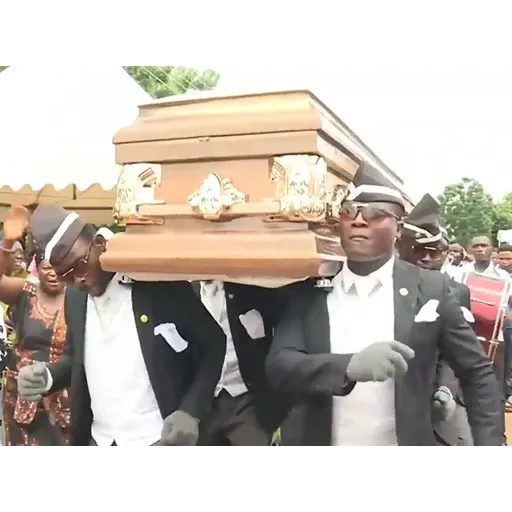 Coffin Dance Memes - Sticker 2