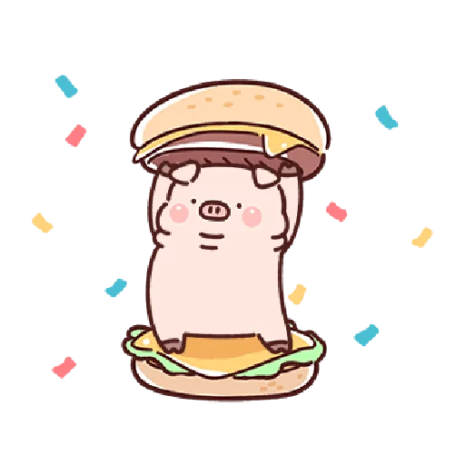 豬豬 - Sticker 3
