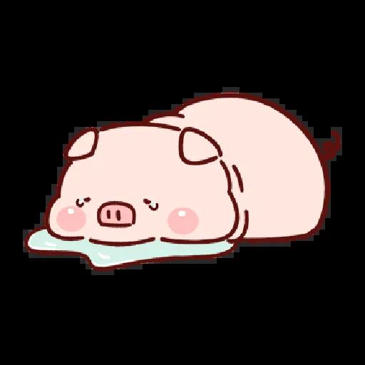 豬豬 - Sticker 17