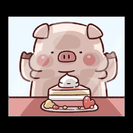 豬豬 - Sticker 9