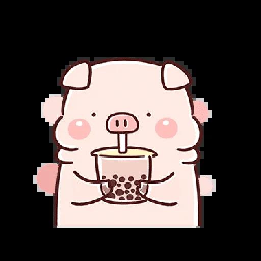 豬豬 - Sticker 21