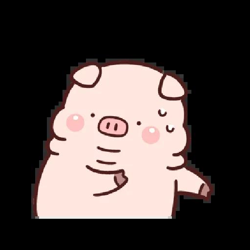 豬豬 - Sticker 18