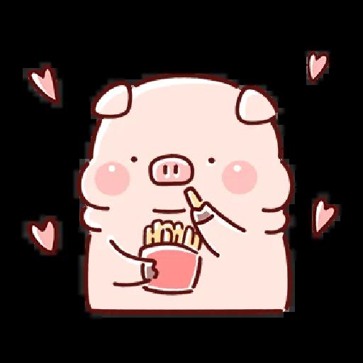 豬豬 - Sticker 6