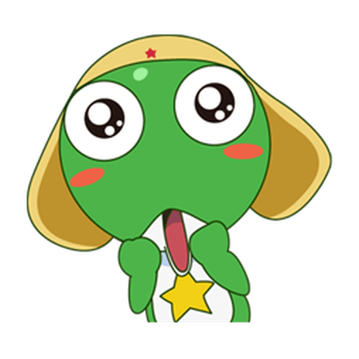 KERORO 01 - Sticker 1