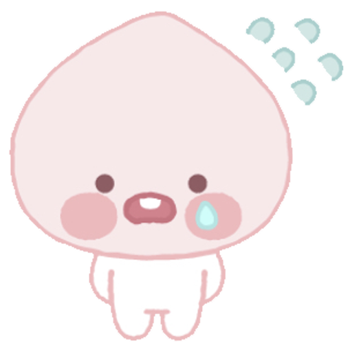Baby apeach - Sticker 26