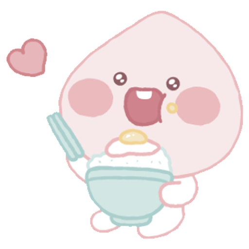 Baby apeach - Sticker 24
