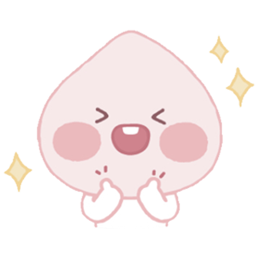 Baby apeach - Sticker 18