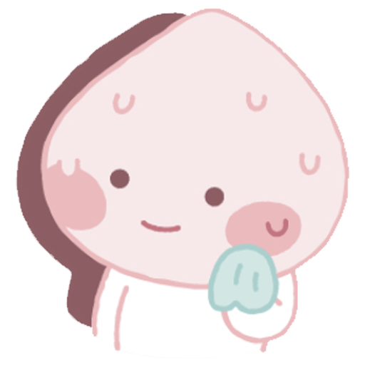 Baby apeach - Sticker 12