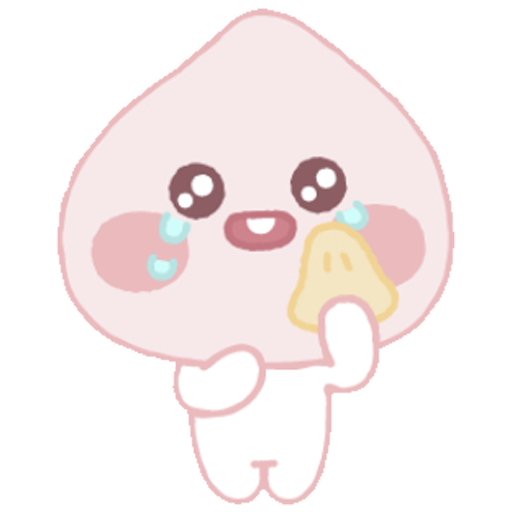 Baby apeach - Sticker 28