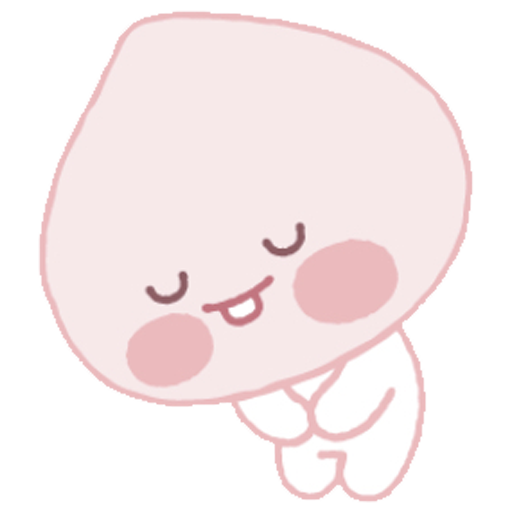 Baby apeach - Sticker 5