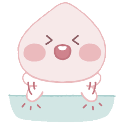 Baby apeach - Sticker 4