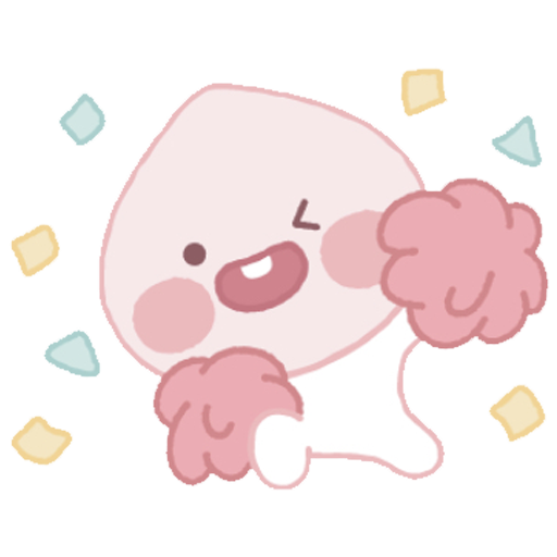 Baby apeach - Sticker 6