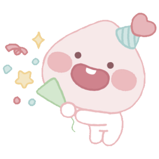 Baby apeach - Sticker 10