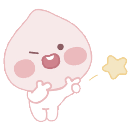 Baby apeach - Sticker 19