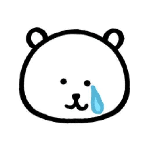 W bear emoji - Sticker 11