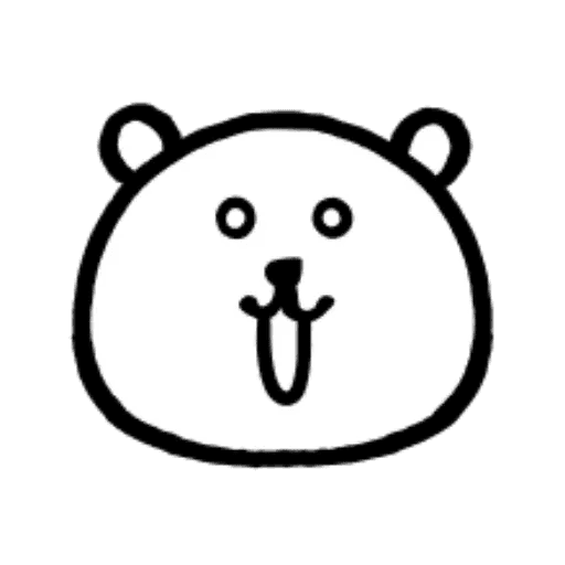 W bear emoji - Sticker 22